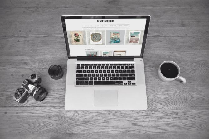 Blackyard responsive Webdesign Webdesign Bern Schweiz