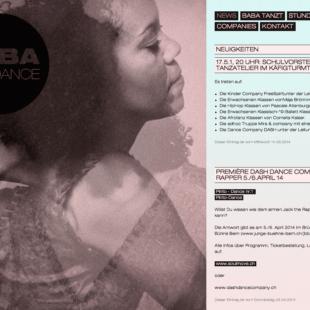 Babadance Webdesign 1 Webdesign Bern Schweiz