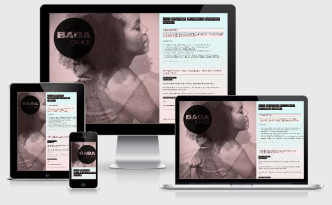 Babadance Webdesign Bern Schweiz