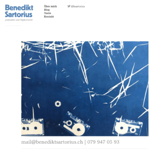 Benediktsartorius Webdesign 1 Webdesign Bern Schweiz