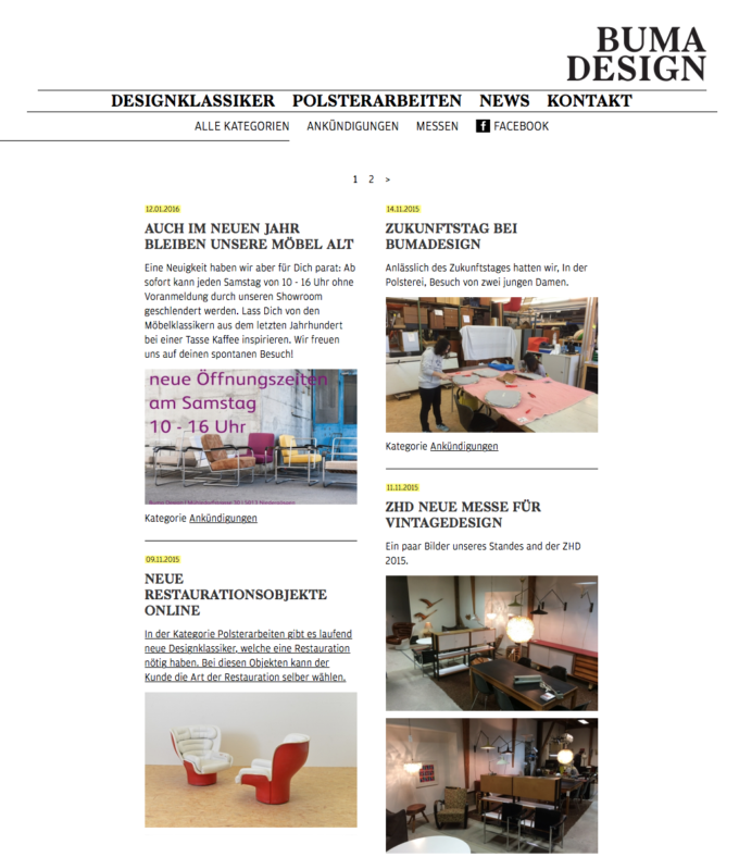 Bumadesign Webdesign 4 Webdesign Bern Schweiz