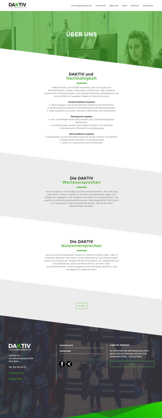 Daktiv Webdesign Outline43 Webdesign Bern Schweiz