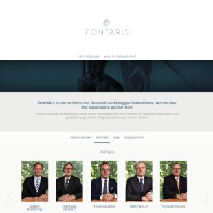 Fontaris Webdesign 1 Webdesign Bern Schweiz