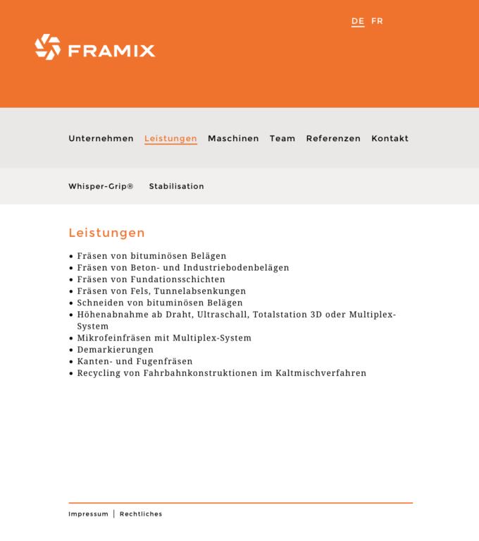 Framix Bura Subag Webdesign Outline4 1 Webdesign Bern Schweiz