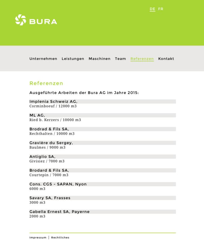 Framix Bura Subag Webdesign Outline4 10 Webdesign Bern Schweiz