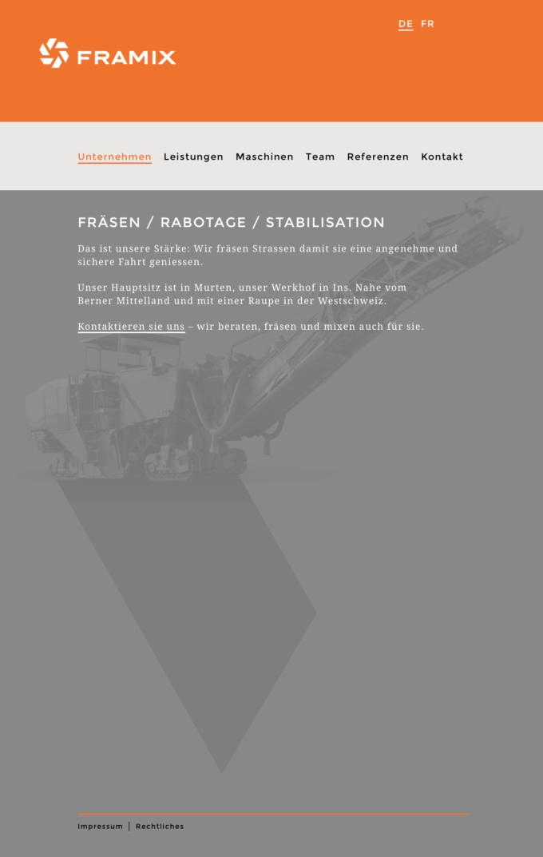 Framix Bura Subag Webdesign Outline4 18 Webdesign Bern Schweiz