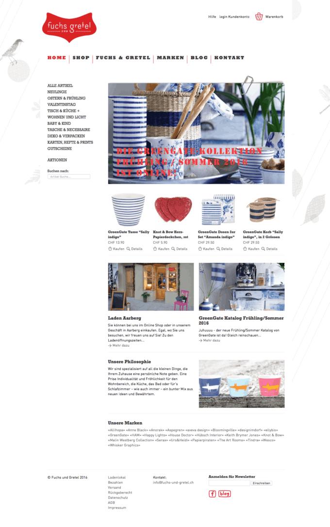 Fuchs Und Gretel Webdesign 1 Webdesign Bern Schweiz