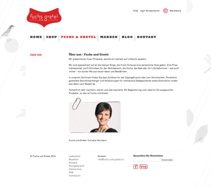 Fuchs Und Gretel Webdesign 4 Webdesign Bern Schweiz