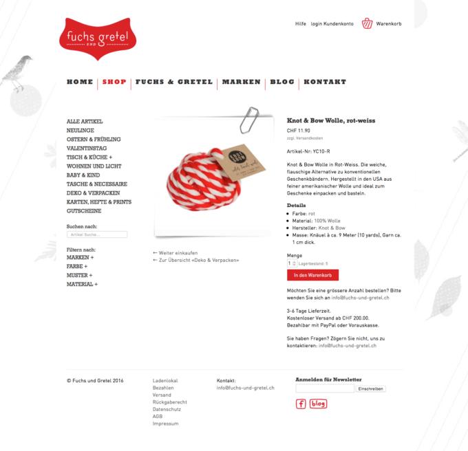 Fuchs Und Gretel Webdesign 5 Webdesign Bern Schweiz