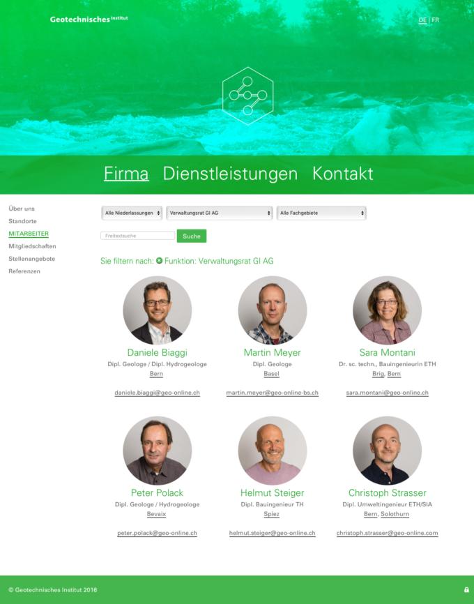Geo Online Webdesign Outline4 Ch 3 Webdesign Bern Schweiz