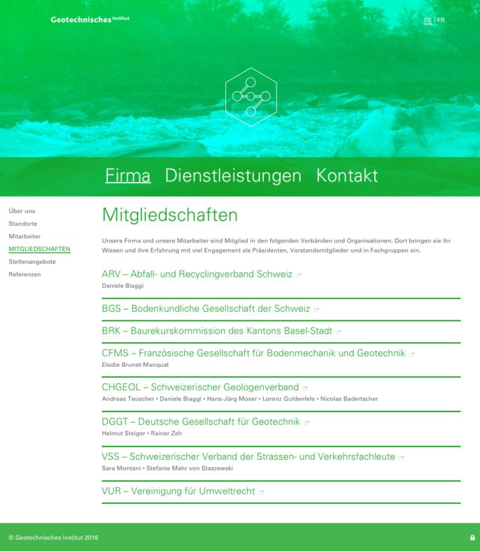 Geo Online Webdesign Outline4 Ch 4 Webdesign Bern Schweiz