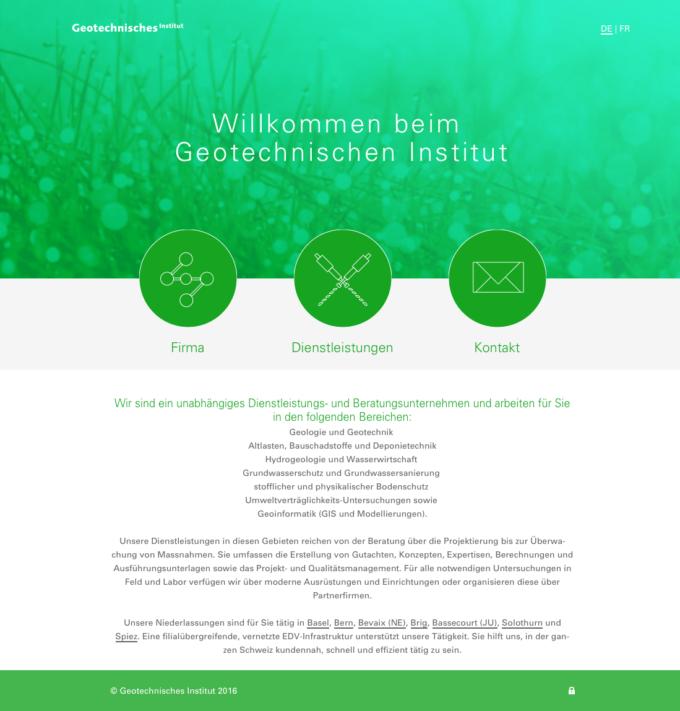 Geo Online Webdesign Outline4 Ch 9 Webdesign Bern Schweiz