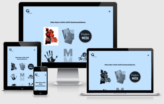 Gigergraphics Responsiv Webdesign Bern Schweiz