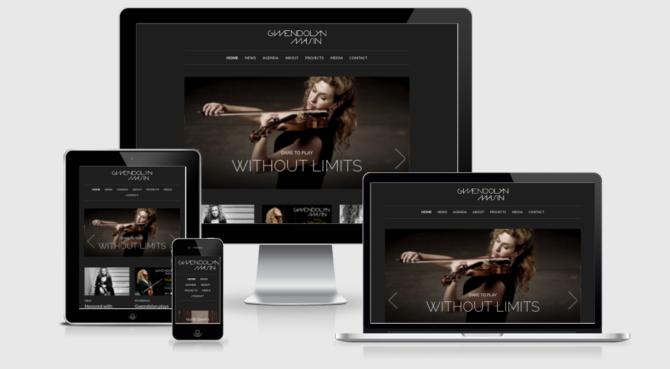 Gwendolyn Mockup Webdesign Bern Schweiz
