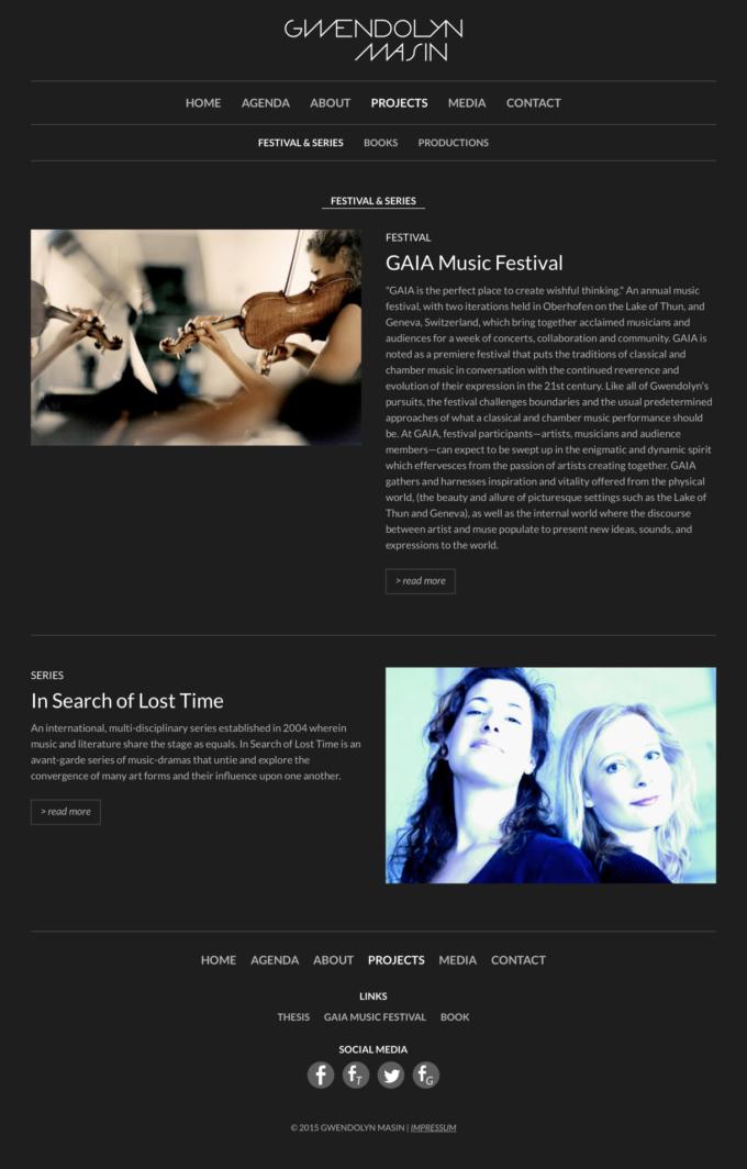 Gwendolyn Maisin Webdesign 10 Webdesign Bern Schweiz