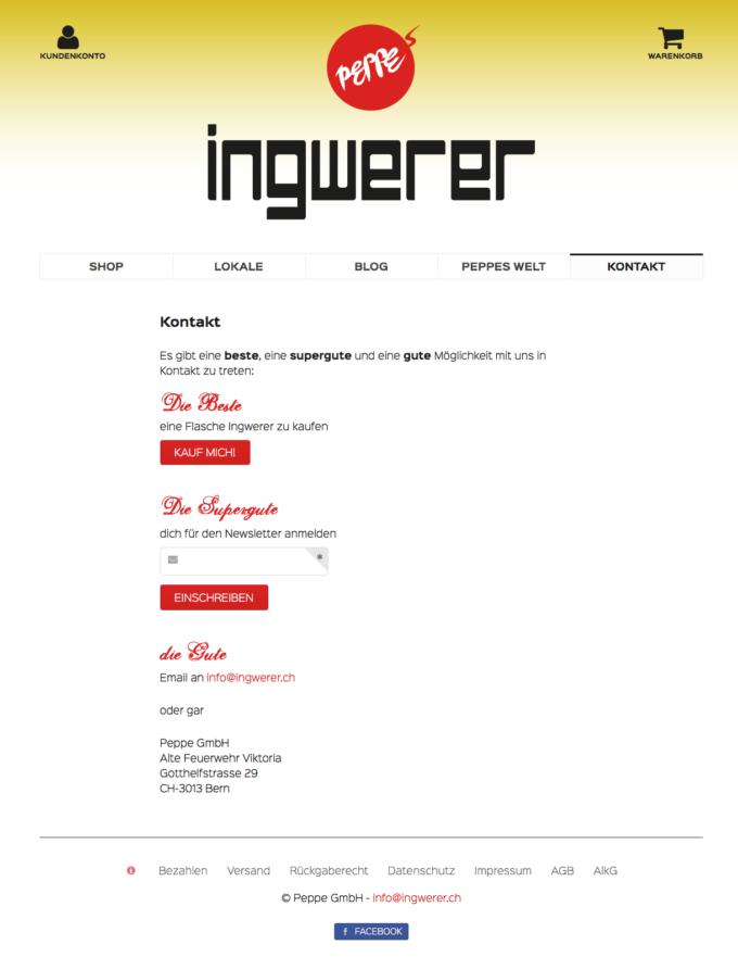 Ingwerer Webdesign 4 Webdesign Bern Schweiz