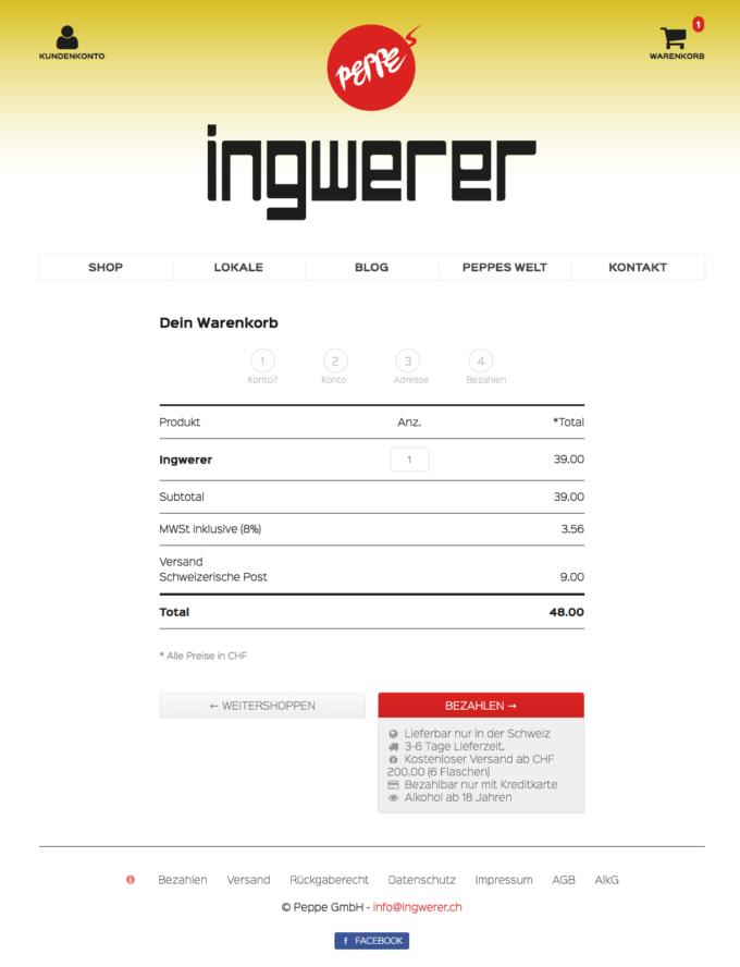 Ingwerer Webdesign 5 Webdesign Bern Schweiz