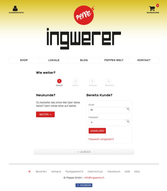 Ingwerer Webdesign 6 Webdesign Bern Schweiz