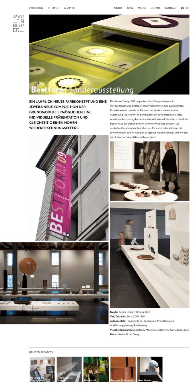 Martinbirrerdesign Webdesign 1 Webdesign Bern Schweiz