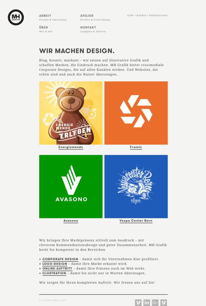Mhg Webdesign Outline4 1 Webdesign Bern Schweiz
