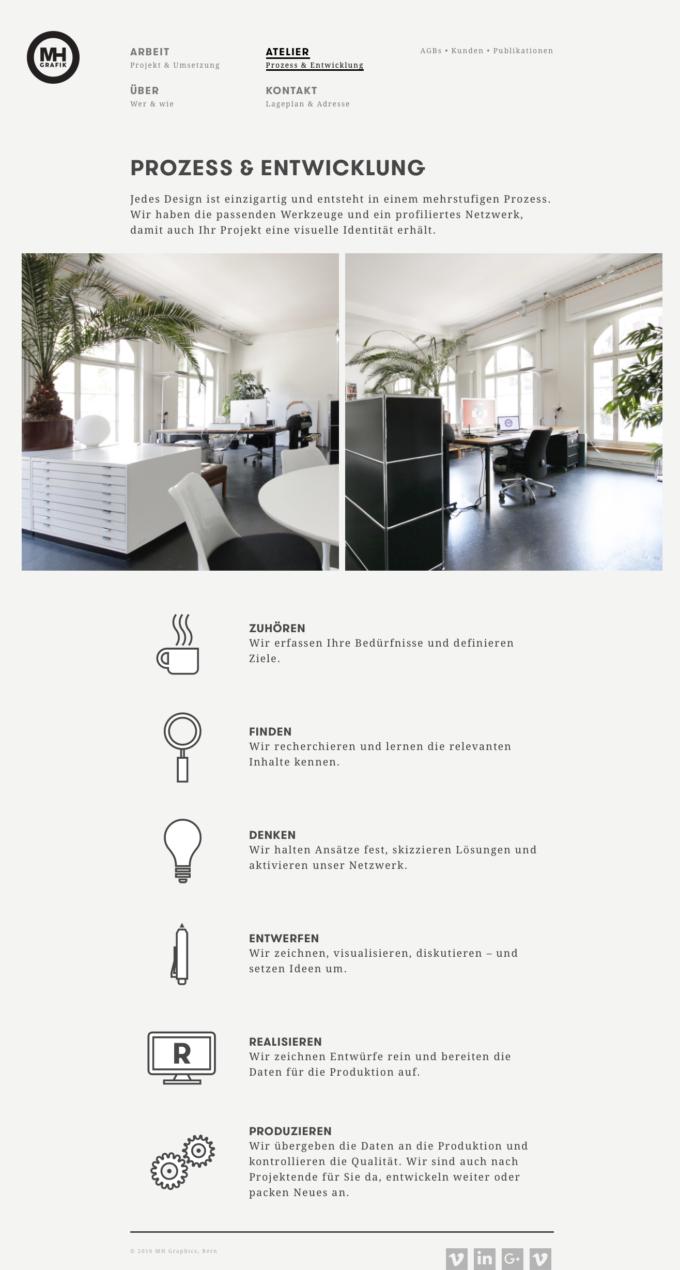 Mhg Webdesign Outline4 3 Webdesign Bern Schweiz