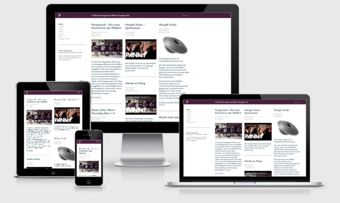 Panart Mockup Webdesign Bern Schweiz