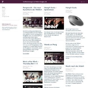 Panart Webdesign 2 Webdesign Bern Schweiz