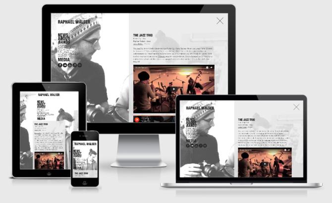 Raphael Walser 2 Webdesign Bern Schweiz