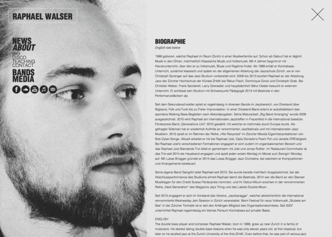 Raphaelwalser Webdesign 4 Webdesign Bern Schweiz