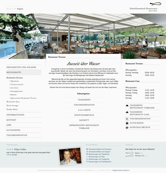 Schwellenmaetteli Webdesign 2 Webdesign Bern Schweiz