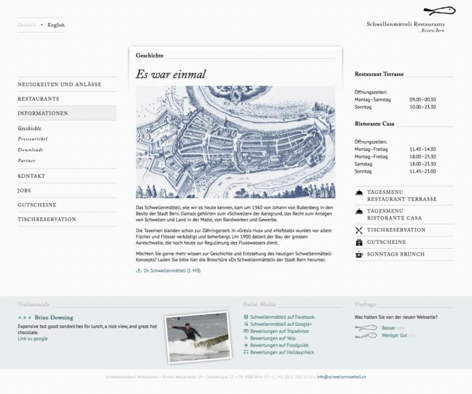 Schwellenmaetteli Webdesign 3 Webdesign Bern Schweiz
