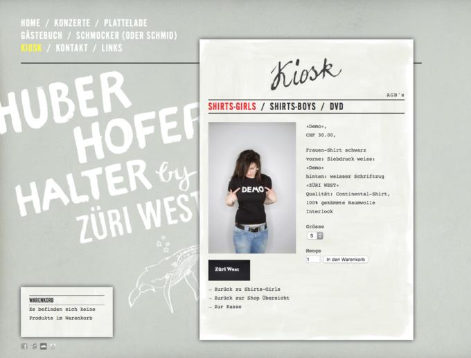 Zueriwest Webdesign 4 Webdesign Bern Schweiz